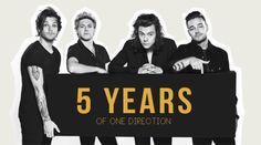 #5YearsOfOneDirection