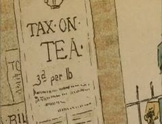 In 1773 the Tea act was passed by the British Parliament. It was passed to reduce tax on tea that was being shipped to the colonies.