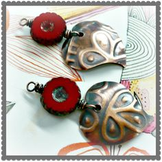 Art Jewelry Elements: Saturday Share - Embossing Metal with the Sizzix BigShot
