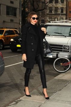 So chic in all black