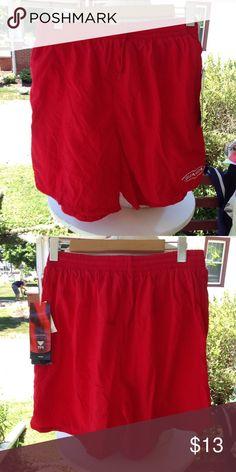 Brand new mens tyr Swim Trunks. Size large, red, new with tags. Red Swim Trunks, Swim Swim, Swimming, Brand New, Man Shop, Tags, Men, Swim, Guys