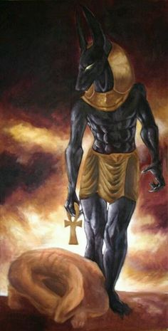 Anubis' Judgement WIP by Anuwolf on DeviantArt Egyptian Mythology, Ancient Egyptian Art, Egyptian Goddess, Ancient History, European History, Ancient Aliens, Ancient Greece, American History, Deviant Art