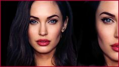 Angelina Jolie + Megan Fox HYBRID TRANSFORMATION Makeup Tutorial
