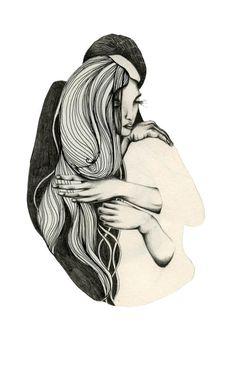 niishe – lovers Lovers, Illustration, Design, Illustrations