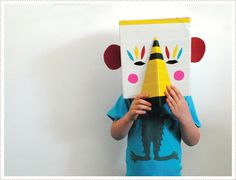 MerMagAnimalBoxMasks5 by mer mag, via Flickr