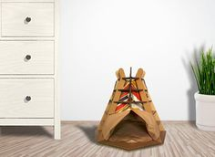 Wild Cardboard Cat House is sustainable cat bed, suitable for your home interior, build from cardboard - favorite material for your Kitty. Cardboard Cat House, Animal House, Something Beautiful, Pets, Interior, Furniture, Home, Design, Pet Store
