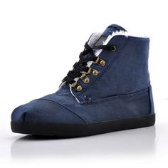 New Style Toms women's boots blue