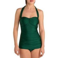 Bathing Beauty One Piece in Emerald. Color Of The Year #Emerald #ColorOfTheYear