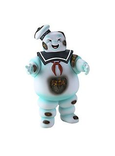 Ahhh...love the smell of burnt marshmallows! // Ghostbusters Angry Burnt Stay Puft Marshmallow Man Bank