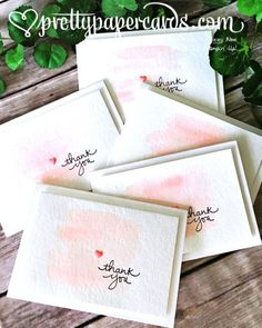 Endless Thanks thank you cards
