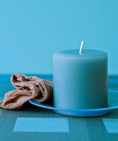 Panty Hose as Candle Duster; Remove dust from candles by running it through the leg of an old pair of panty hose.