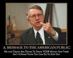 Free Zone Media Center News: The Unpatriotic Laziness of Harry Reid  By Onan Co...