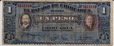 Estado de Chihuaha - Mexico. Un Peso 1914.
