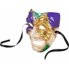 Mardi Gras Full Face Mask