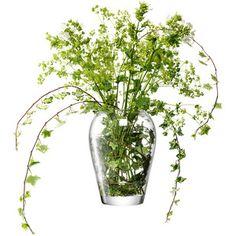 LSA International Flower Garden Bouquet Vase - H25cm