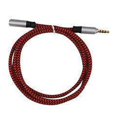 Kingko® 3.5mm Stereo Audio Headphone Cable Extension Cord M to F MP3 Aux (red) No description (Barcode EAN = 0644741817581). http://www.comparestoreprices.co.uk/december-2016-4/kingko®-3-5mm-stereo-audio-headphone-cable-extension-cord-m-to-f-mp3-aux-red-.asp
