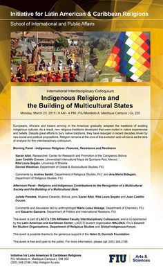 Anthropology of Religion | Events | Lecture Series | Indigenous Religions & The Building of Multicultural States | March 23, 2015