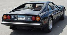 Ferrari 308 GTB - Black - Rear Angle