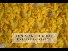 Crochet Tunecino : Punto # 4 - YouTube