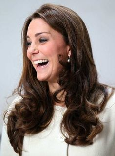 Kate appeared to throughly enjoy her visit to the set of the drama