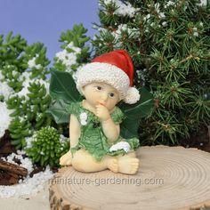 Miniature Gardening - Believe in Christmas Fairy Baby > $7.99