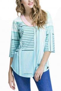 Culito from Spain Peplum, Ruffle Blouse, Spain, Turquoise, Tops, Shirt, Women, Fashion, Moda