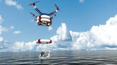 RTS Lab is developing Pars, a robotic quadcopter that launches from a floating platform an...