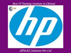 HP Load Runner Training Institute in Chennai - AllTechZ Solutions