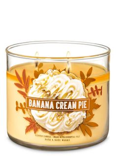 Pie Candle by Bath & Body Works Banana Cream Pie Candle