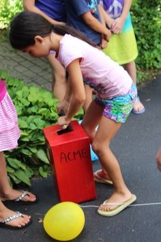 Great kids party games ideas.