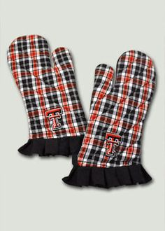 TECH Plaid Set of Two Kitchen Mitts