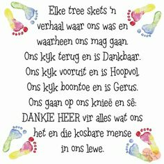 Elke tree skets ñ verhaal. Inspirational Qoutes, Uplifting Quotes, Motivational, Best Birthday Wishes Quotes, Gods Princess, Evening Greetings, Afrikaanse Quotes, Bible Text, Fancy Words