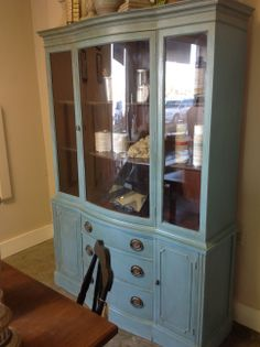 Beautiful Hutch for sale-- Refurbished at Revisit using Amy Howard One step Paint