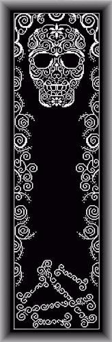 SKULL BANNER - Counted Cross Stitch Pattern