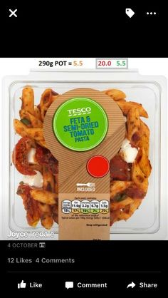 Tesco Slimming World Tesco, Slimming World Recipes, Clean Eating, Healthy Eating, Syn Free, Lunch To Go, Healthy Options, Diet Recipes, Health Fitness