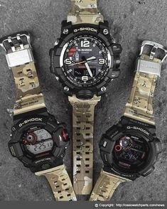 7e4faf56f474ca Casio G-Shock releasing their new model of its line with the release of New  G-Shock Master In Desert Camouflage Series. These new models part of G-Shock  ...