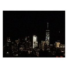 """Window view at Night of """"city that never sleeps"""" Picture of Stewart... ❤ liked on Polyvore featuring backgrounds and photo"""