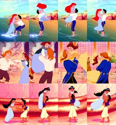 Screen Test - The leading man in every Disney film must have the ability to lift the leading actress above his head due to the fact that this stunt appears in Every Disney Princess film. Disney: forever giving girls unrealistic standards in men. Disney Magic, Disney Pixar, Walt Disney, Disney Dream, Disney E Dreamworks, Disney Amor, Disney Love, Hipster Disney, Disney Ships