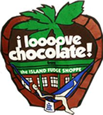 The Island Fudge Shoppe in Hilton Head, sc  Thee best chocolate I've ever eaten. I even order it at Christmas time for fun memories