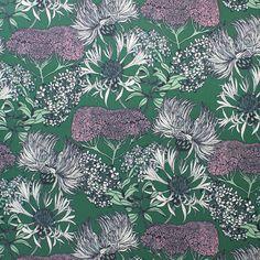 Hello Yarrow Teal Wallpaper   Abigail Borg   Surface Pattern Designer & Floral Illustrator   Traditional Surface Pattern Design