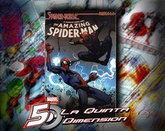 AMAZING SPIDER-MAN # 8 PORTADA VARIANTE $ 60.00 Para más información, contáctanos en http://www.facebook.com/la5aDimension