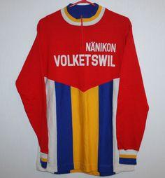 9cbc0d334b0 Vintage Nanikon Volketswil Cycling jersey 80 s 90 s