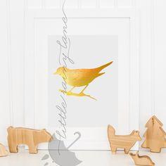 Nursery Decor - Bird Print - bird art - bird nursery decor by LittleRainyLane on Etsy https://www.etsy.com/listing/224825612/nursery-decor-bird-print-bird-art-bird