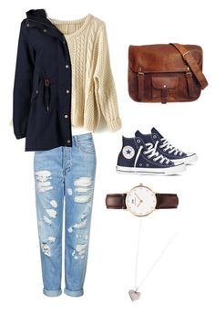 """1st Day of Winter"" by rosalvarangel ❤ liked on Polyvore featuring Topshop, adidas Originals, Converse, Daniel Wellington and Dogeared"