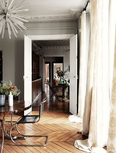 A Parisian Chic Apartment | ZsaZsa Bellagio - Like No Other