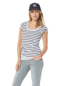 Flashlights Shirt (2 Stück) online kaufen   OTTO Sportliche Outfits,  Ausschnitt, Modisch b318709a35