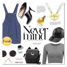 """""""Statement Necklace ~ LoveNewChic #25"""" by alexandrazeres ❤ liked on Polyvore featuring Yestadt Millinery, 3.1 Phillip Lim, Maryam Keyhani, statementnecklaces and newchic"""