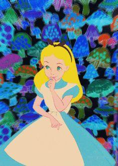 gif gifs trippy disney drugs shrooms acid psychedelic Alice In Wonderland disney gif colourful Disney Princess magical trippy gif mushrooms magic mushrooms psychedelic gif alice in wonderland gif trip out drug gif buzzin mushroom gif colourful gif eat some shroom gif magic mushroom gif