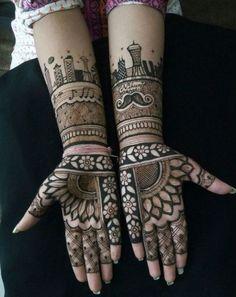 New Mehndi Designs Pretty Henna Designs, Modern Mehndi Designs, Mehndi Designs For Girls, Mehndi Design Pictures, Wedding Mehndi Designs, Mehndi Designs For Fingers, Bridal Mehndi, Mehendi, Mehndi Images