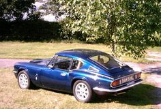 Metallic Blue Triumph GT6 Mk3 Early Rotoflex Model SOLD (1972)
